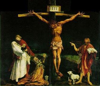 grunewald_crucifixion