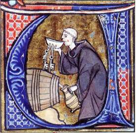 monkdrinking